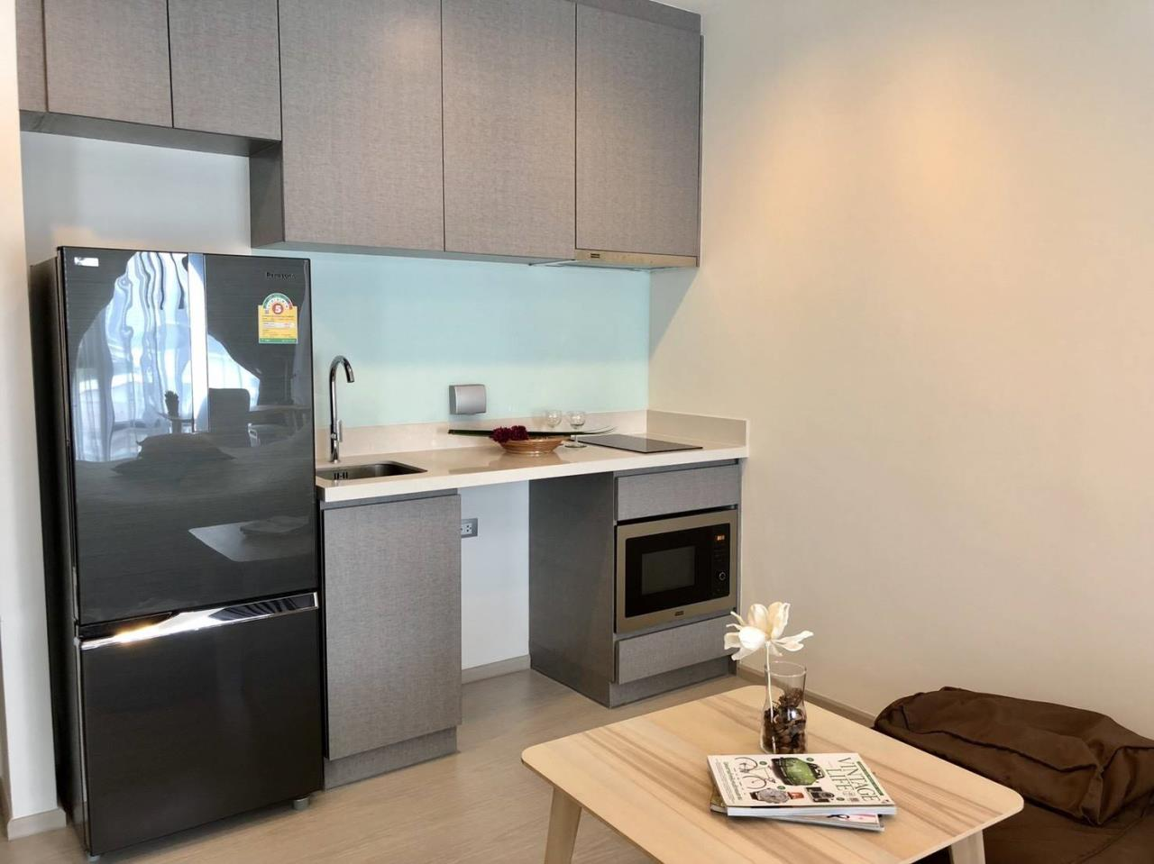 Arken Estate Agency Property Agency near BTS & MRT Agency's For Rent Rhythm 36-38, Studio type 3