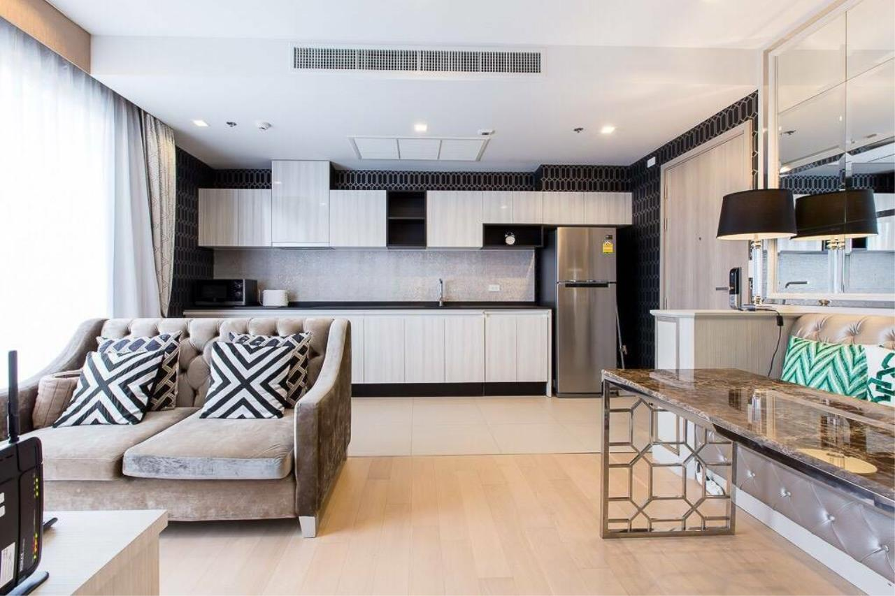 Arken Estate Agency Property Agency near BTS & MRT Agency's For Rent HQ By Sansiri 1 bed 1 bath 7