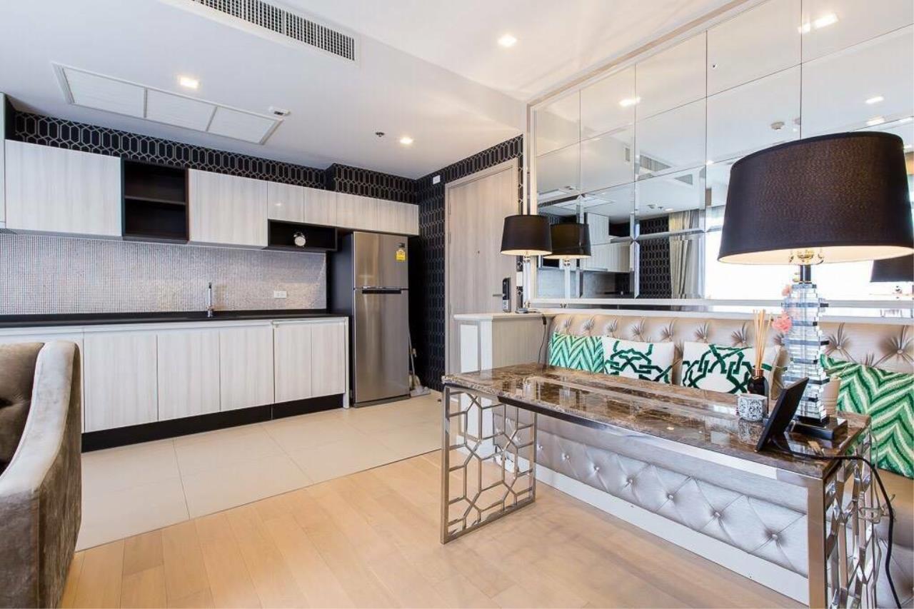 Arken Estate Agency Property Agency near BTS & MRT Agency's For Rent HQ By Sansiri 1 bed 1 bath 8