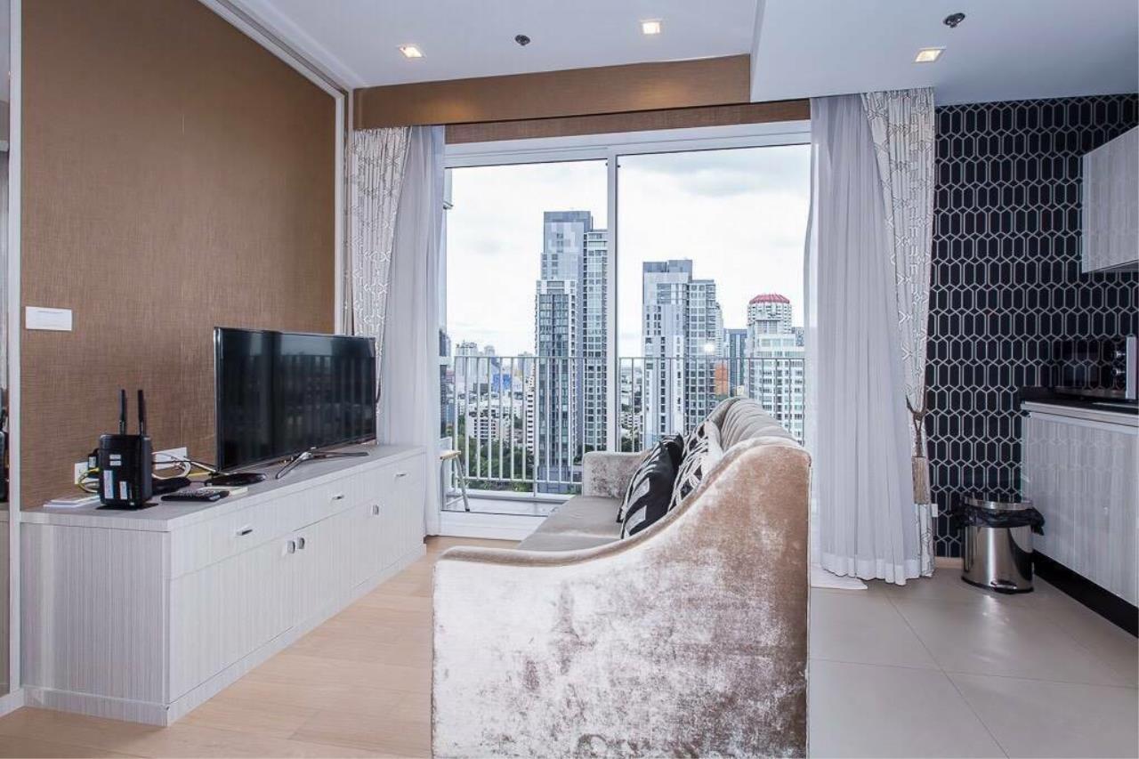 Arken Estate Agency Property Agency near BTS & MRT Agency's For Rent HQ By Sansiri 1 bed 1 bath 2