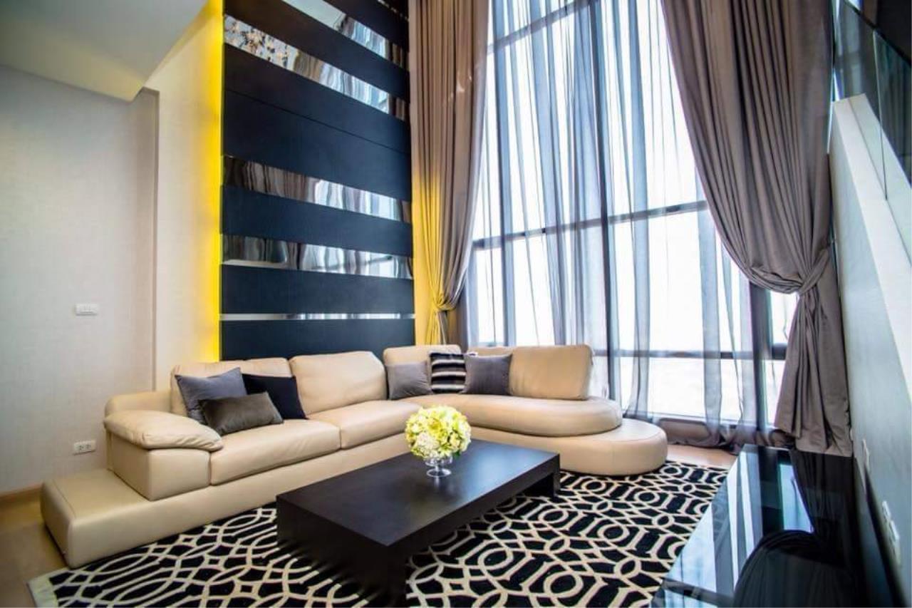 Arken Estate Agency Property Agency near BTS & MRT Agency's For Rent Urbano Absolute Sathorn-Taksin, Duplex Penthouse 3 bed 3 bath 2