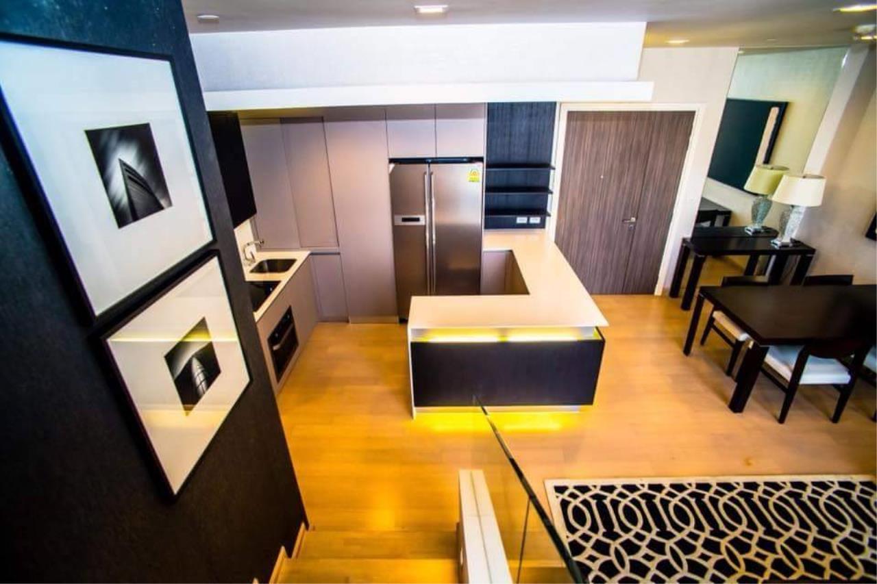 Arken Estate Agency Property Agency near BTS & MRT Agency's For Rent Urbano Absolute Sathorn-Taksin, Duplex Penthouse 3 bed 3 bath 9