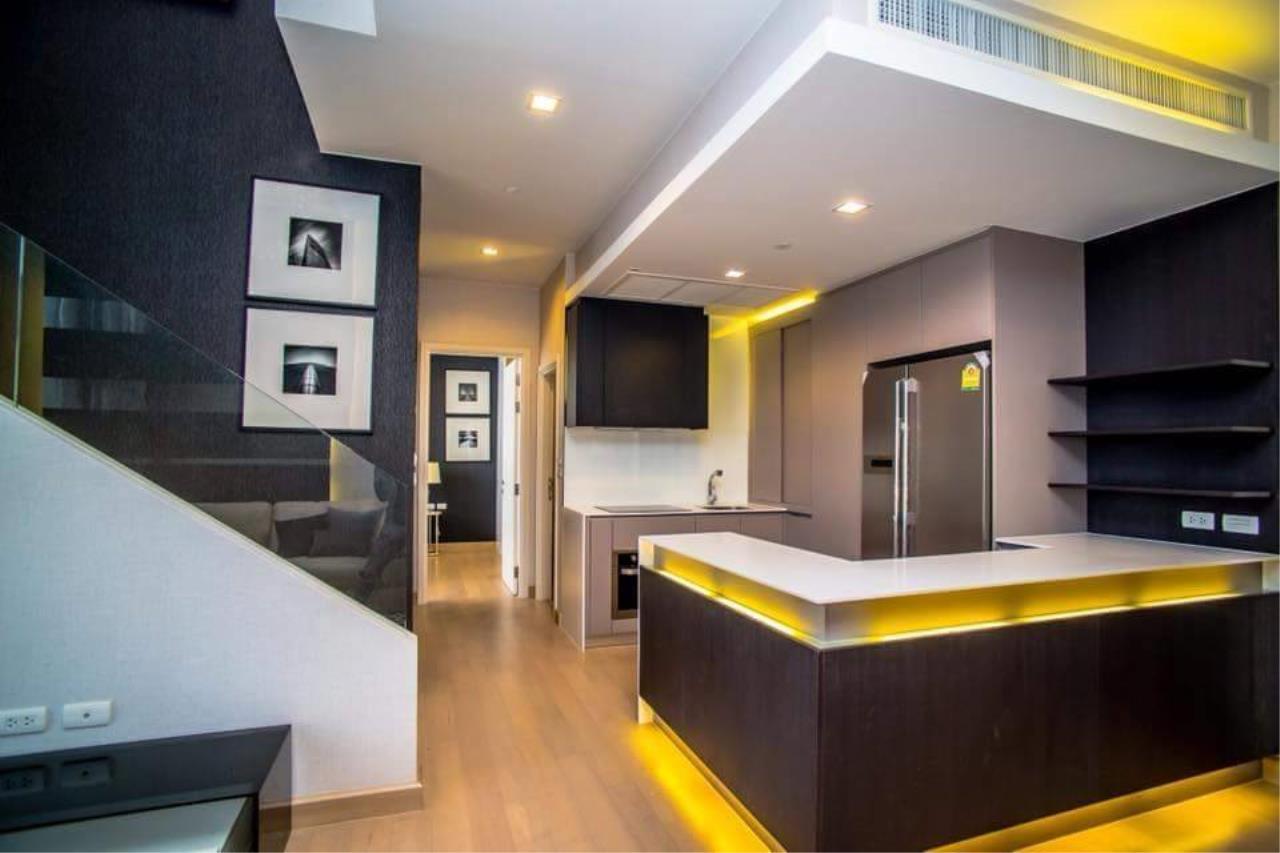 Arken Estate Agency Property Agency near BTS & MRT Agency's For Rent Urbano Absolute Sathorn-Taksin, Duplex Penthouse 3 bed 3 bath 10