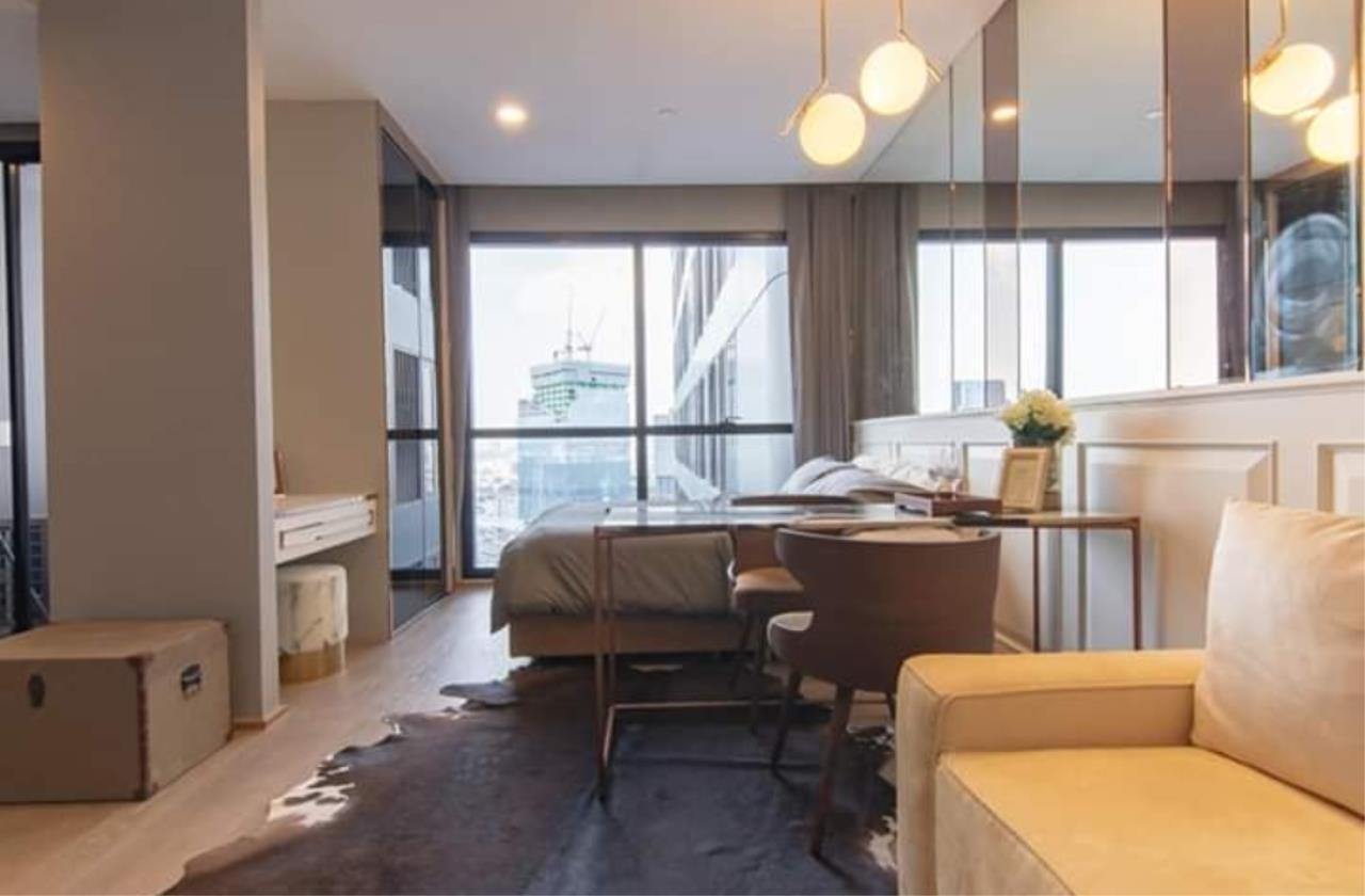Arken Estate Agency Property Agency near BTS & MRT Agency's For Rent Ashton Chula-Silom, Studio 2