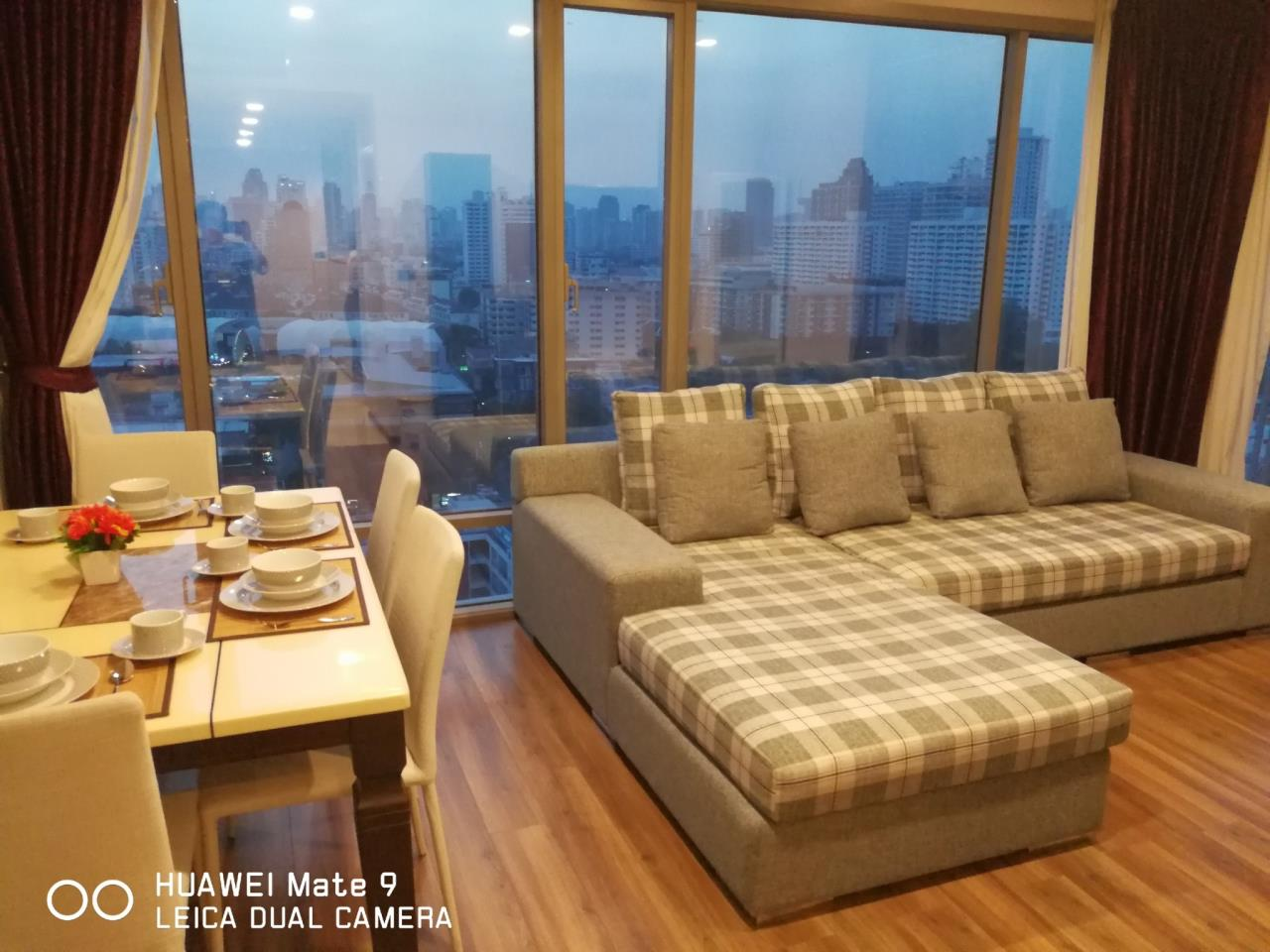 Arken Estate Agency Property Agency near BTS & MRT Agency's For Rent Ceil By Sansiri 2 bed 2 bath 3