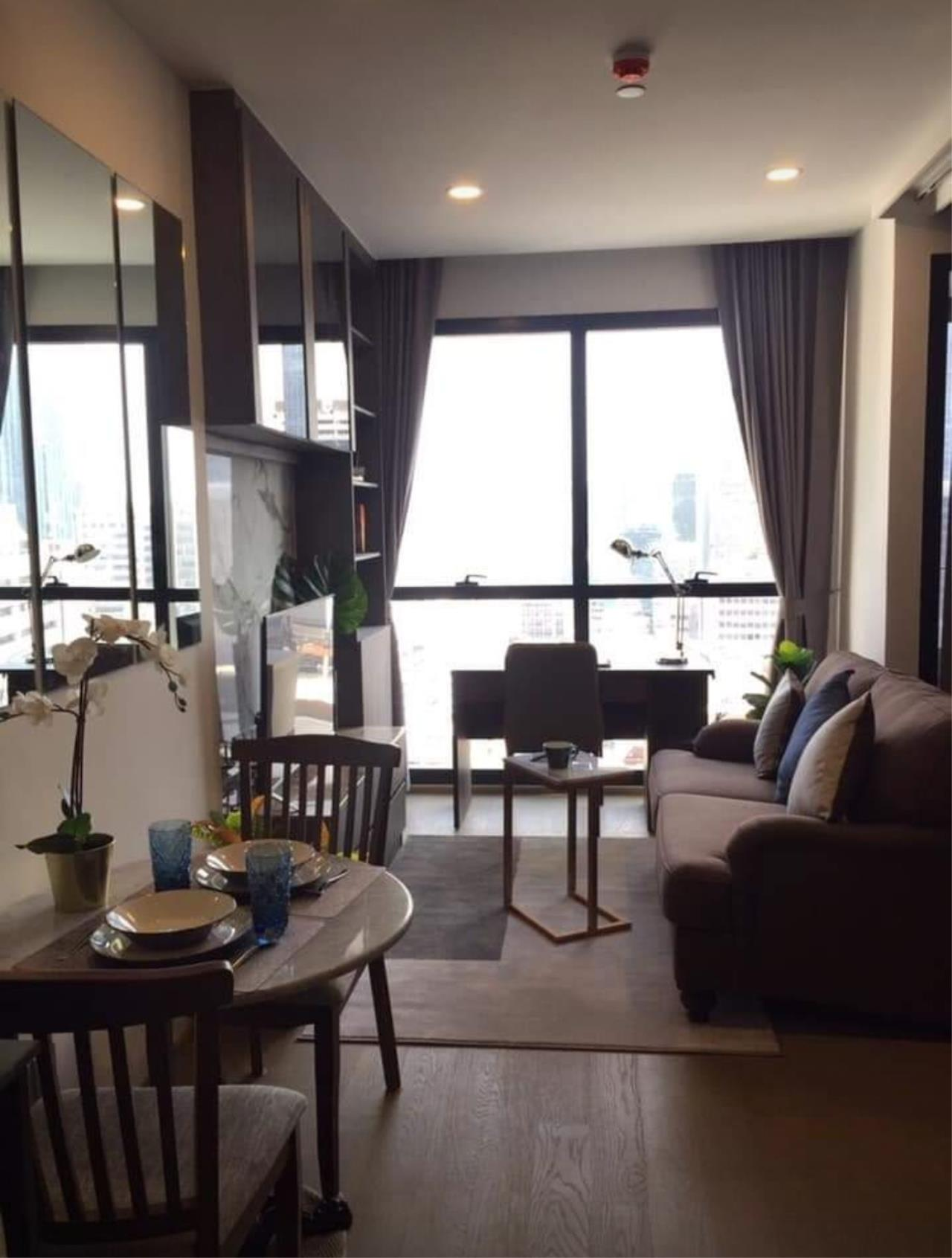 Arken Estate Agency Property Agency near BTS & MRT Agency's For Rent Ashton Chula-Silom 1 bed 6