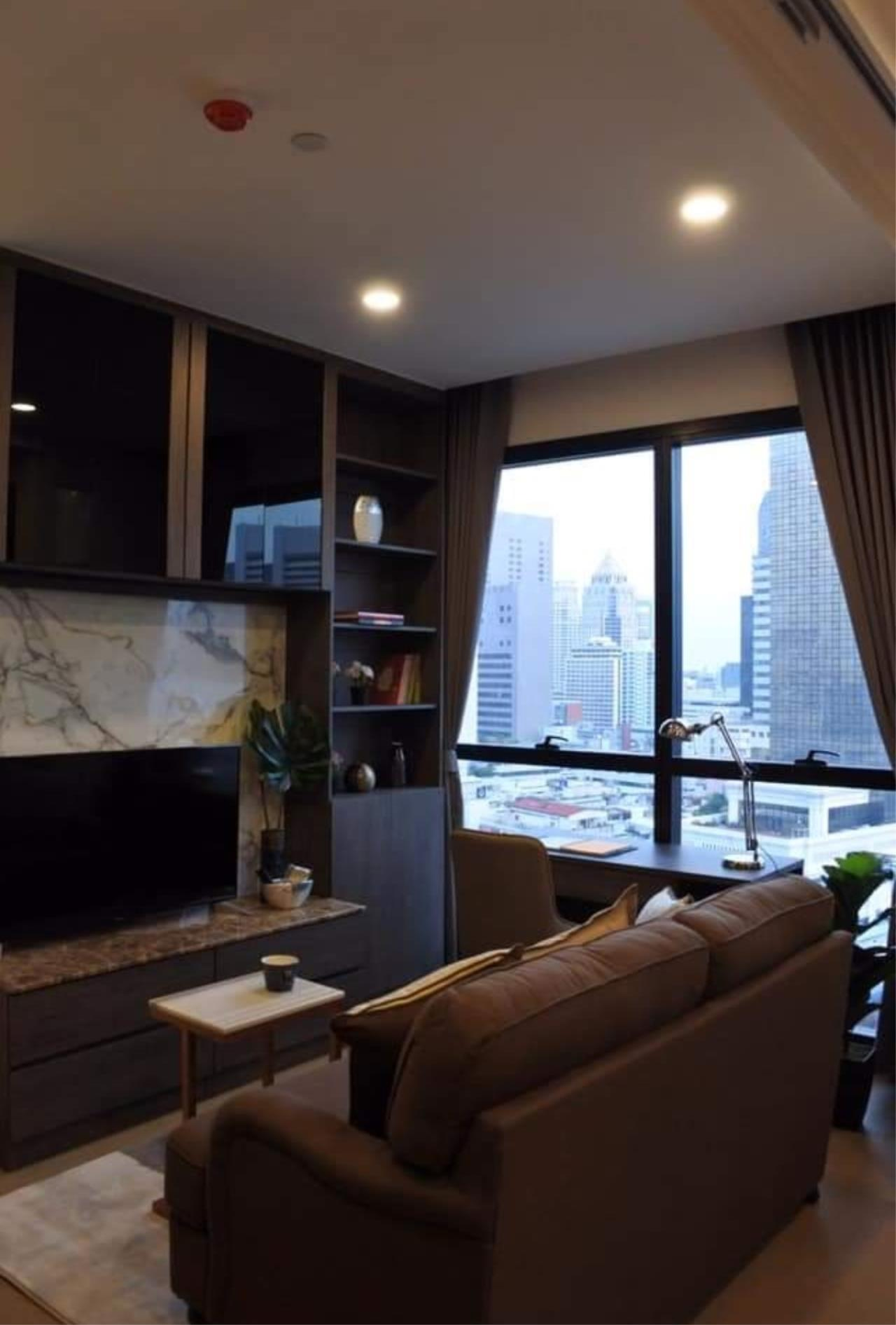Arken Estate Agency Property Agency near BTS & MRT Agency's For Rent Ashton Chula-Silom 1 bed 5