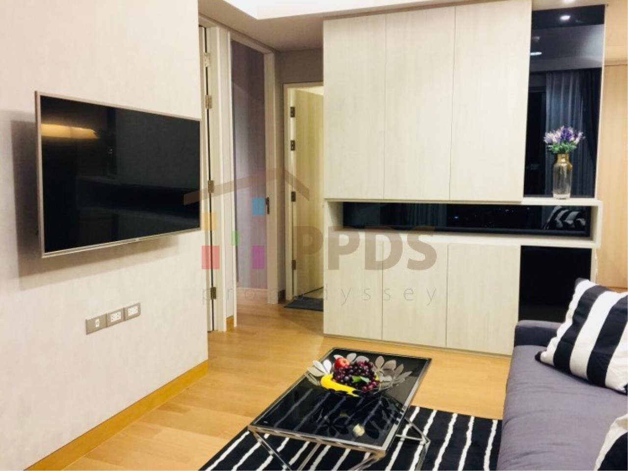 Propodyssey Agency's 2 bedrooms condo for rent Sukhumvit soi 24 called Lumpini 24 close to K-Village 2