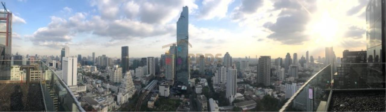 Propodyssey Agency's Ashton Silom - Sale Down Payment 2 beds Stack Floor Type A on high floor & Mahanakorn View 21