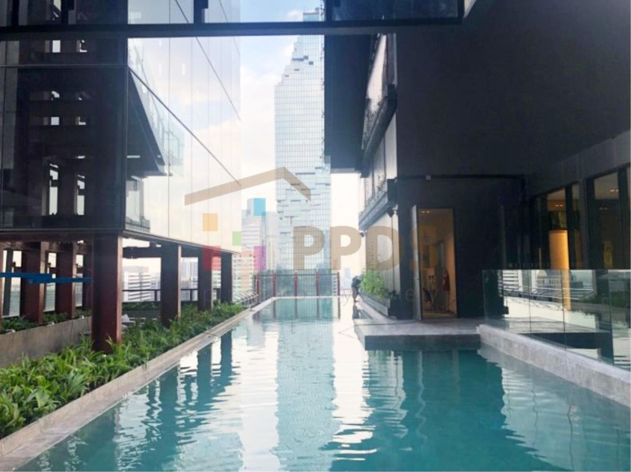Propodyssey Agency's Ashton Silom - Sale Down Payment 2 beds Stack Floor Type A on high floor & Mahanakorn View 29