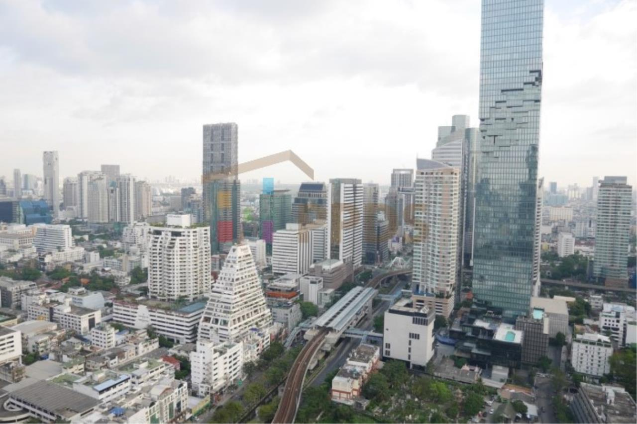 Propodyssey Agency's Ashton Silom - Sale Down Payment 2 beds Stack Floor Type A on high floor & Mahanakorn View 43