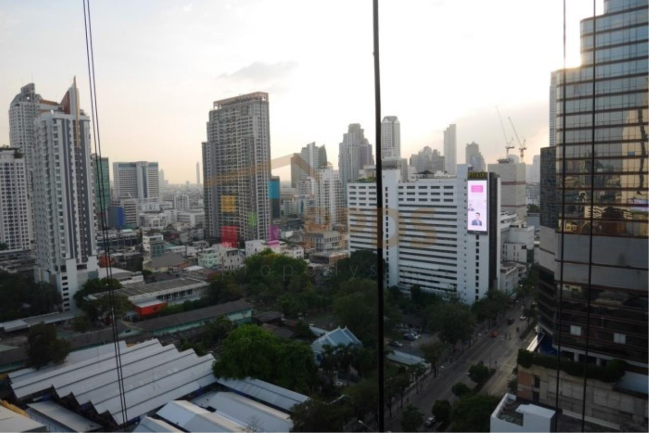 Propodyssey Agency's Ashton Silom - Sale Down Payment 2 beds Stack Floor Type A on high floor & Mahanakorn View 12