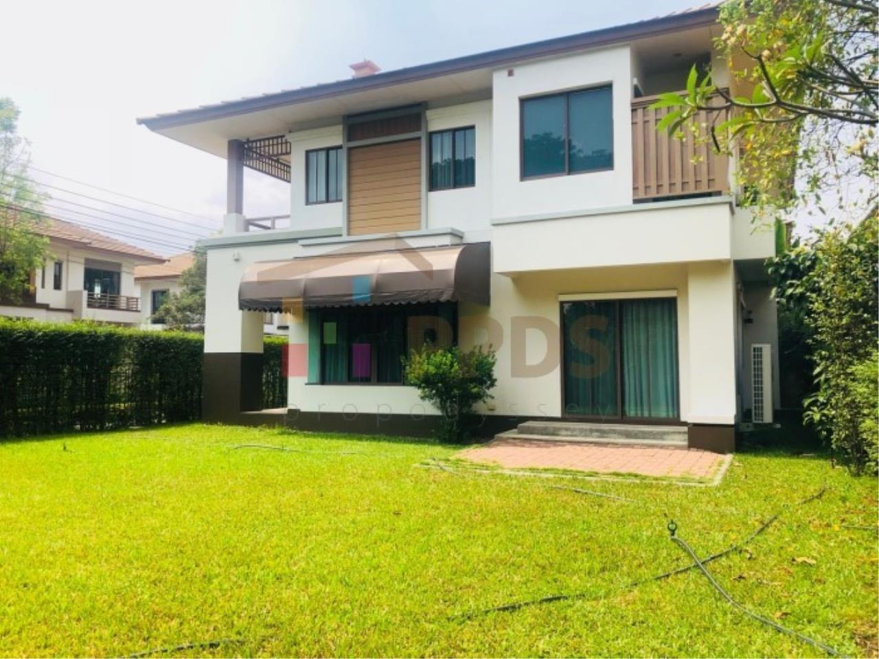 Propodyssey Agency's House for rent with a big yard 3 bedrooms very close to Mega Bangna and Concordian School 1