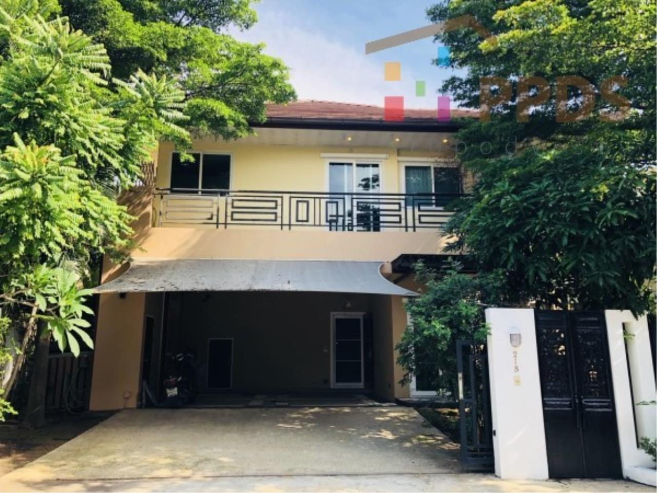 Propodyssey Agency's Fire Sale excellent house 4 bedrooms good condition and ready to move in near Mega Bangna and Airport 1