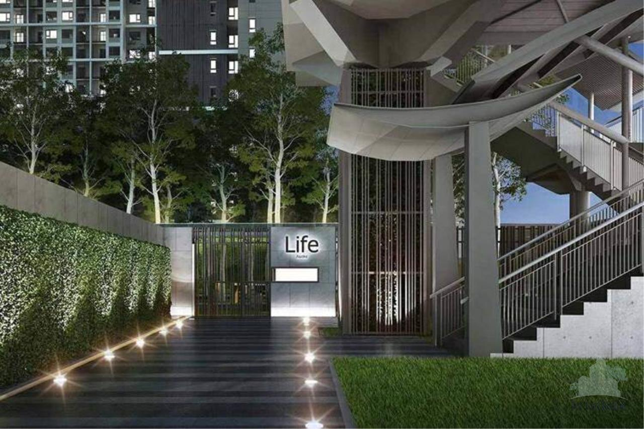 Smart Asset Management Agency's Best Price!!!  For Sell Life Asoke  1 bedroom 29 SQ.M. 2