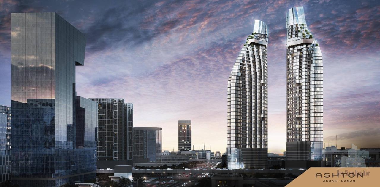 Smart Asset Management Agency's Best Unit!! For Sell Ashton Asoke - Rama 9 near MRT Rama 9 /    1 bed  46.5 sq.m. Type 07 1
