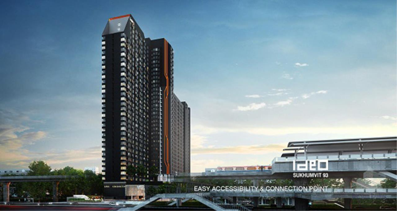 Smart Asset Management Agency's Best Unit!! For Sell Ideo Sukhumvit 93 near BTS Bangchak  /   Studio  25.5 sq.m. Tower A / Type 12 3