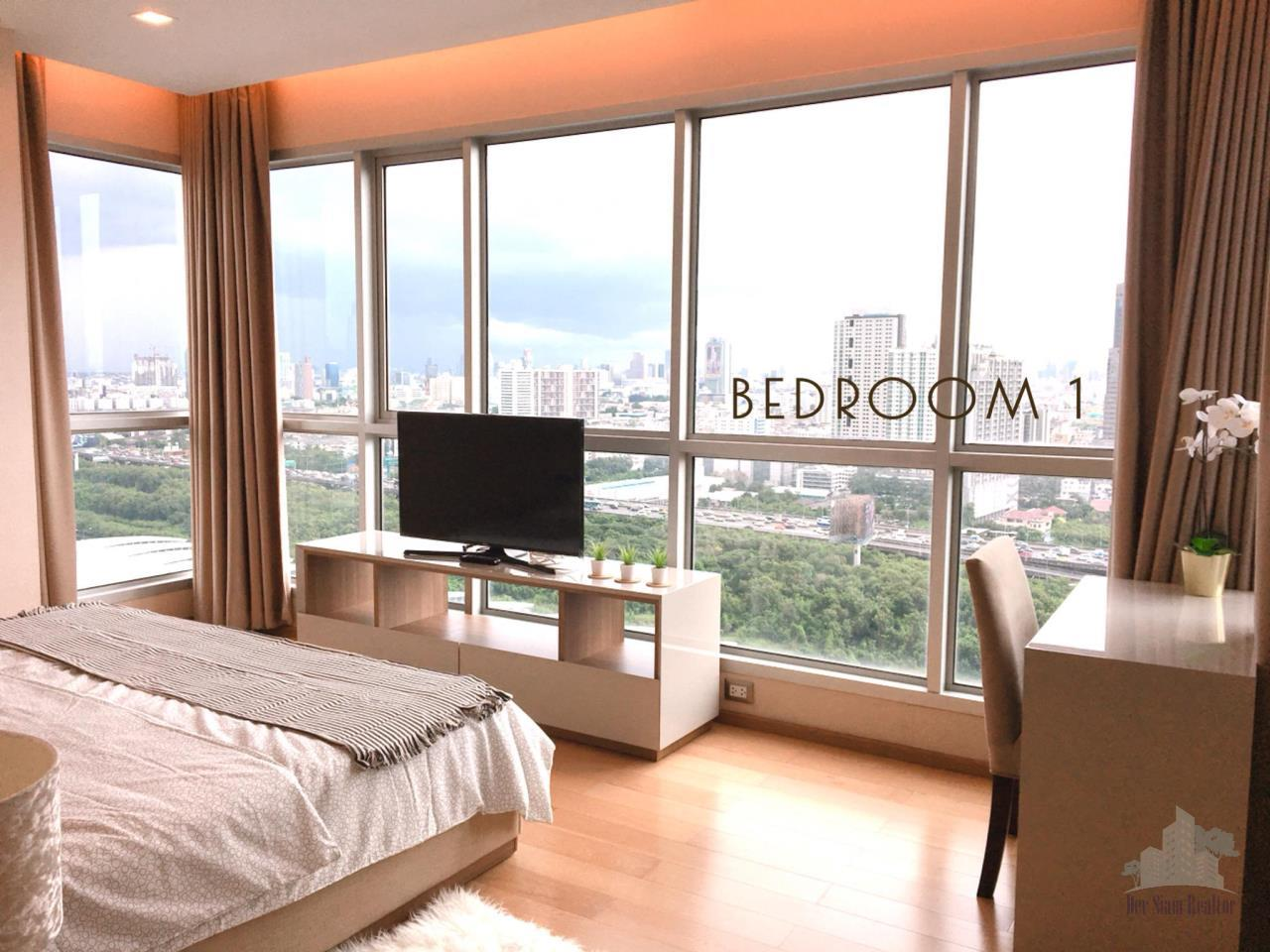 Smart Asset Management Agency's Best Unit!! For Rent The address asoke near MRT Sukhumvit / 2 bedroom 75.5 sq.m.  9