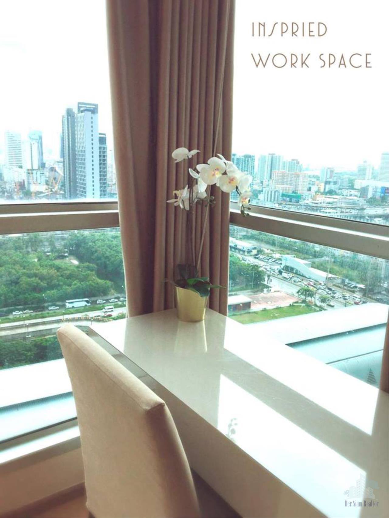 Smart Asset Management Agency's Best Unit!! For Rent The address asoke near MRT Sukhumvit / 2 bedroom 75.5 sq.m.  23