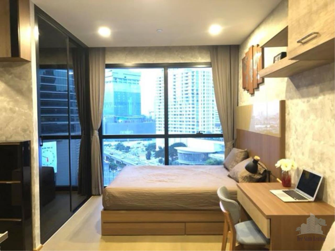 Smart Asset Management Agency's Best Unit!! For Rent Ashton Chula-Silom near MRT Samyan / studio  26 sq.m. 1