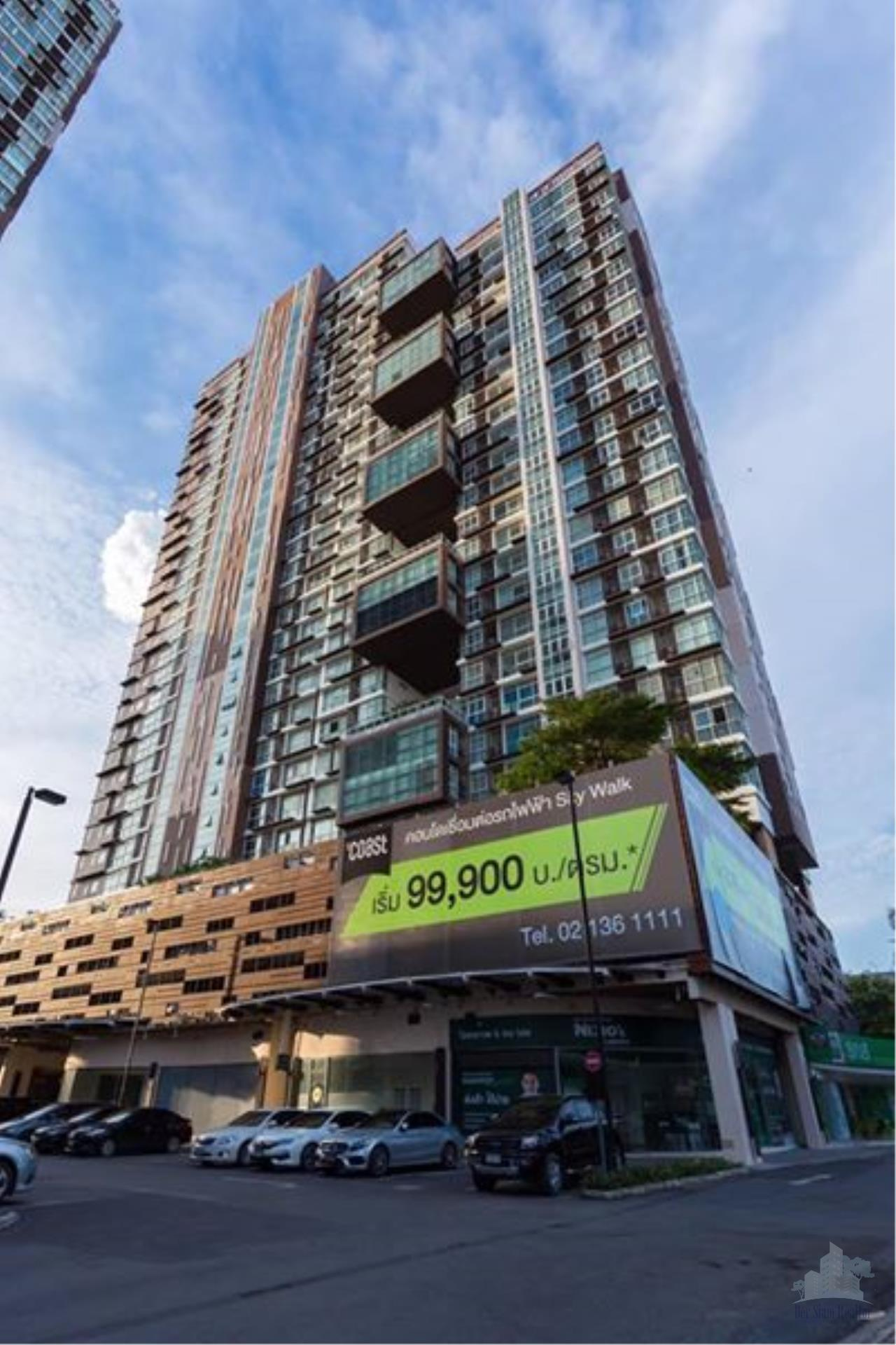 Smart Asset Management Agency's Best Unit!! For Sell The Coast Bangkok  near BTS Bangna  / 1 bedroom 35.22 sq.m.  Tower B 10