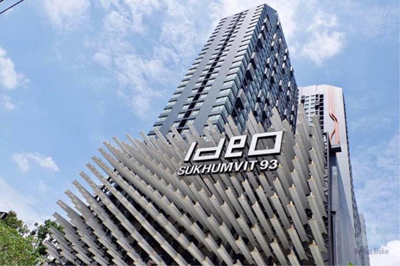 Smart Asset Management Agency's Best Unit!! For Rent Ideo Sukhumvit 93 near BTS Bangchak  /  studio  27 sq.m. Tower A 18