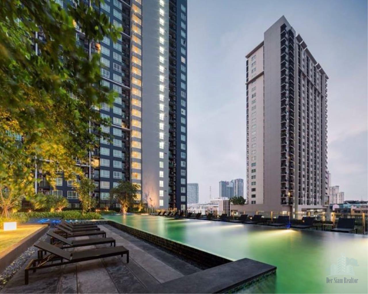 Smart Asset Management Agency's Best Unit!! For Rent The base sukhumvit  77 near BTS Onnut / 1 bedroom  30.65 sq.m.  Tower B 10