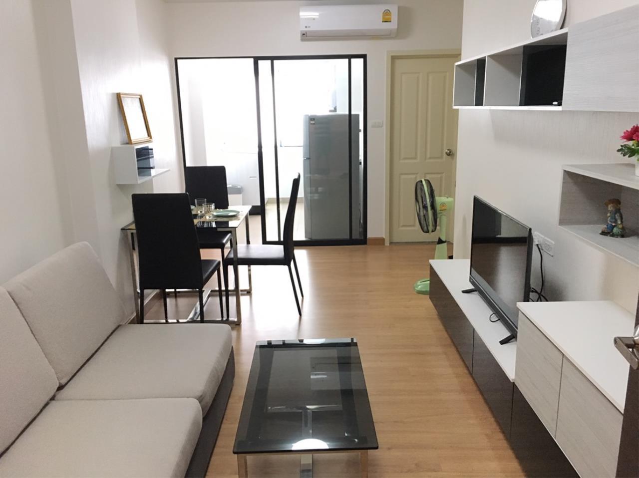 Agent - Lampaopan Intakornudom Agency's Supalai loft Changwattana for rent  2