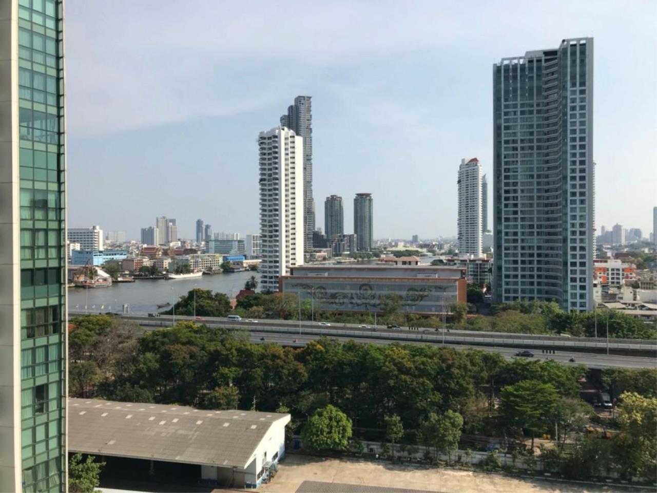 Asangha Realty Agency's One bed room with The Chaophraya River view For Sale  6
