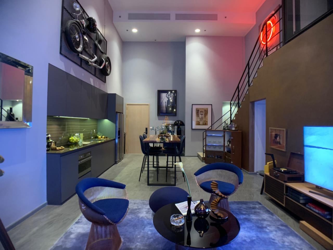 Asangha Realty Agency's [Sale] The Loft Siom Sliom 2 BRS Duplex 6
