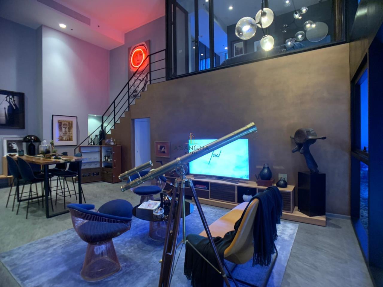 Asangha Realty Agency's [Sale] The Loft Siom Sliom 2 BRS Duplex 7