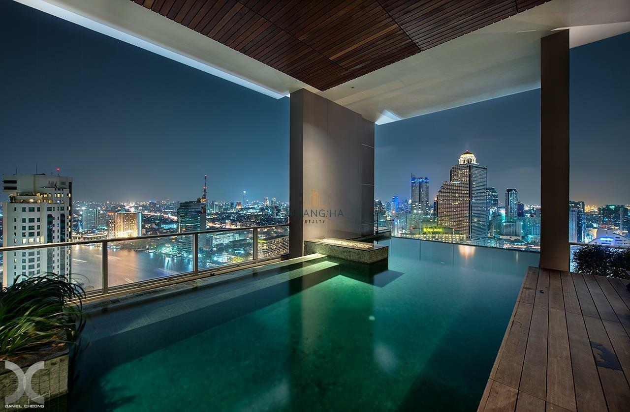 Asangha Realty Agency's 2 Bedrooms River View For Rent  3