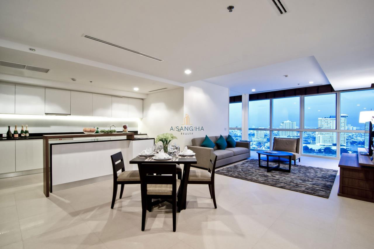Asangha Realty Agency's 2 Bedrooms River View For Rent  1