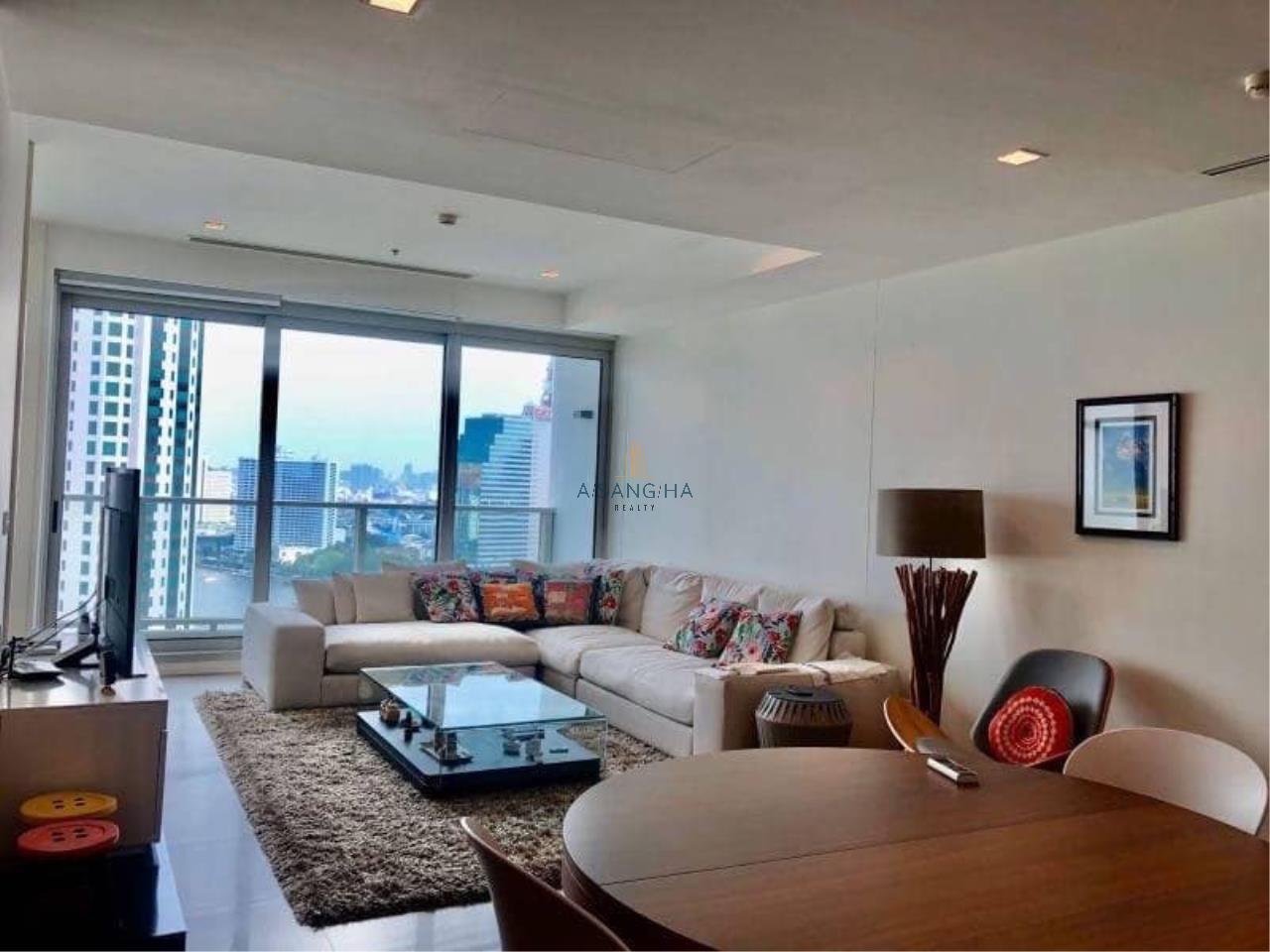 Asangha Realty Agency's (RENT) The River Condominium 2 Bedroom plus Study room- 135 Sq.m River View  1