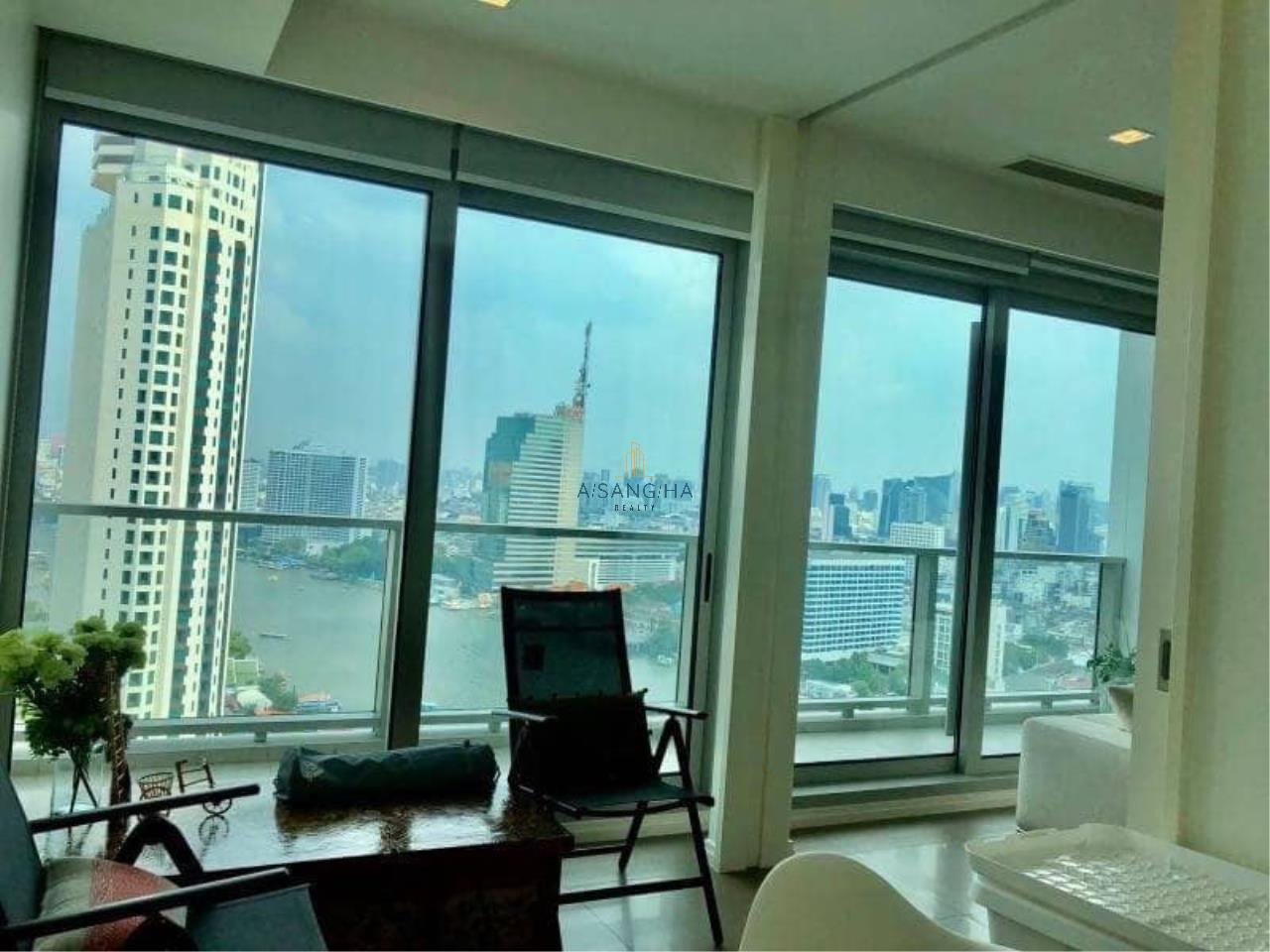 Asangha Realty Agency's (RENT) The River Condominium 2 Bedroom plus Study room- 135 Sq.m River View  2