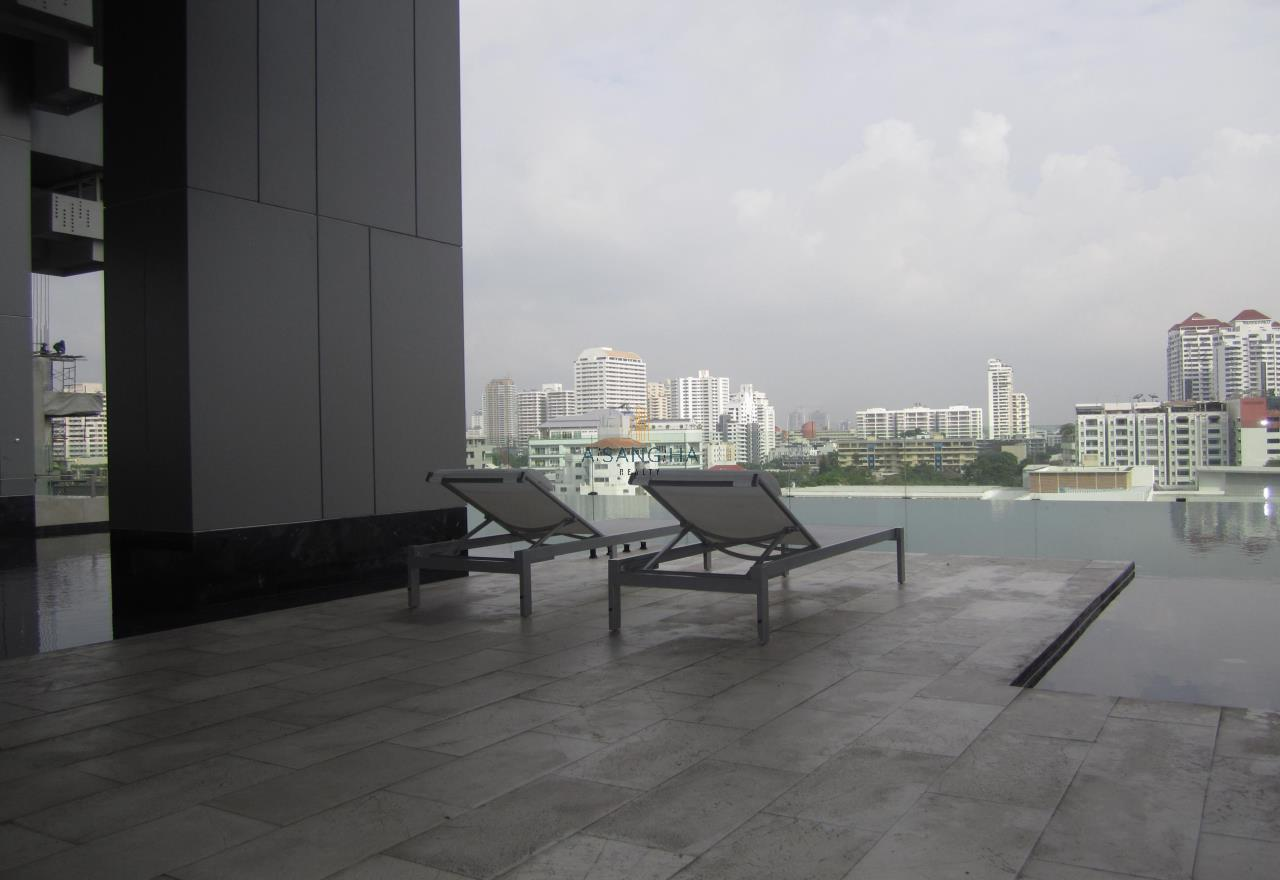 Asangha Realty Agency's For Rent - KEYNE BY SANSIRI at Thonhlo 1 bed reat  Very High Floor with great view   11