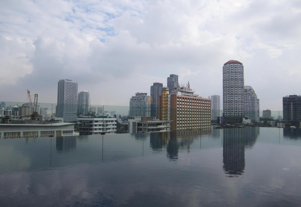 Asangha Realty Agency's For Rent - KEYNE BY SANSIRI at Thonhlo 1 bed reat  Very High Floor with great view   12