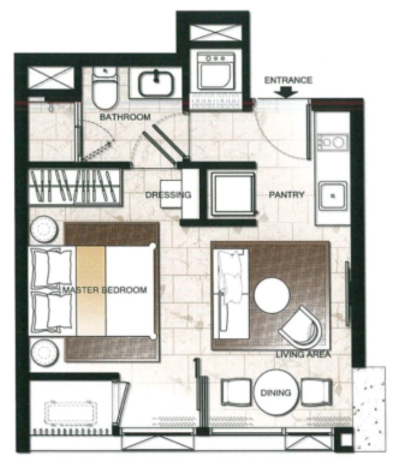Edman & Partners Co.,Ltd. Agency's Hyde 11 for rent 13