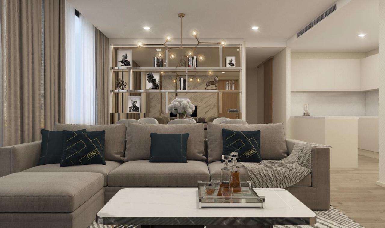 Edman & Partners Co.,Ltd. Agency's Noble Ploen Chit 3 Beds for Rent 2
