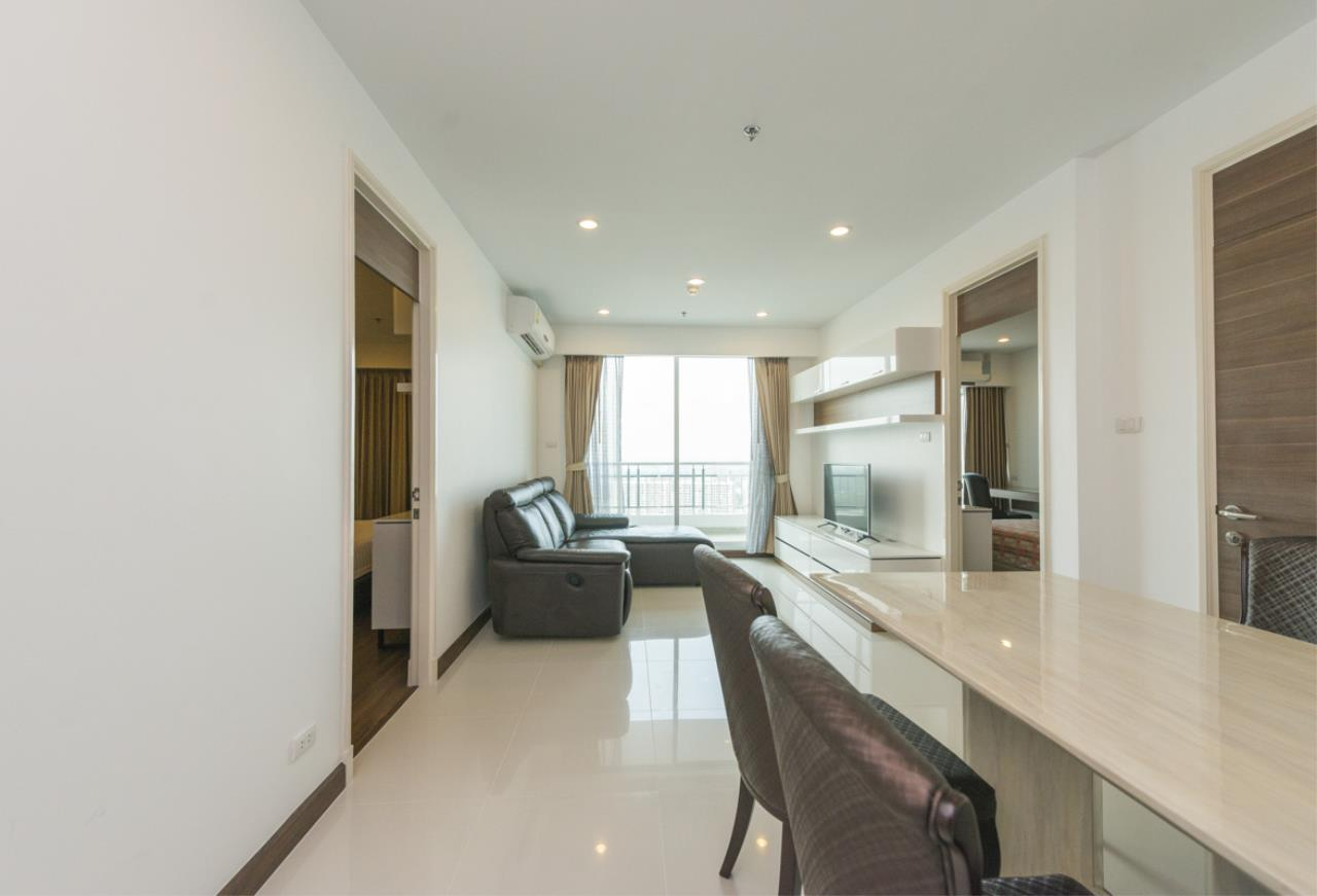 Edman and Partners Co.,Ltd Agency's SUPALAI PRIMA RIVA For Rent 2Br 2
