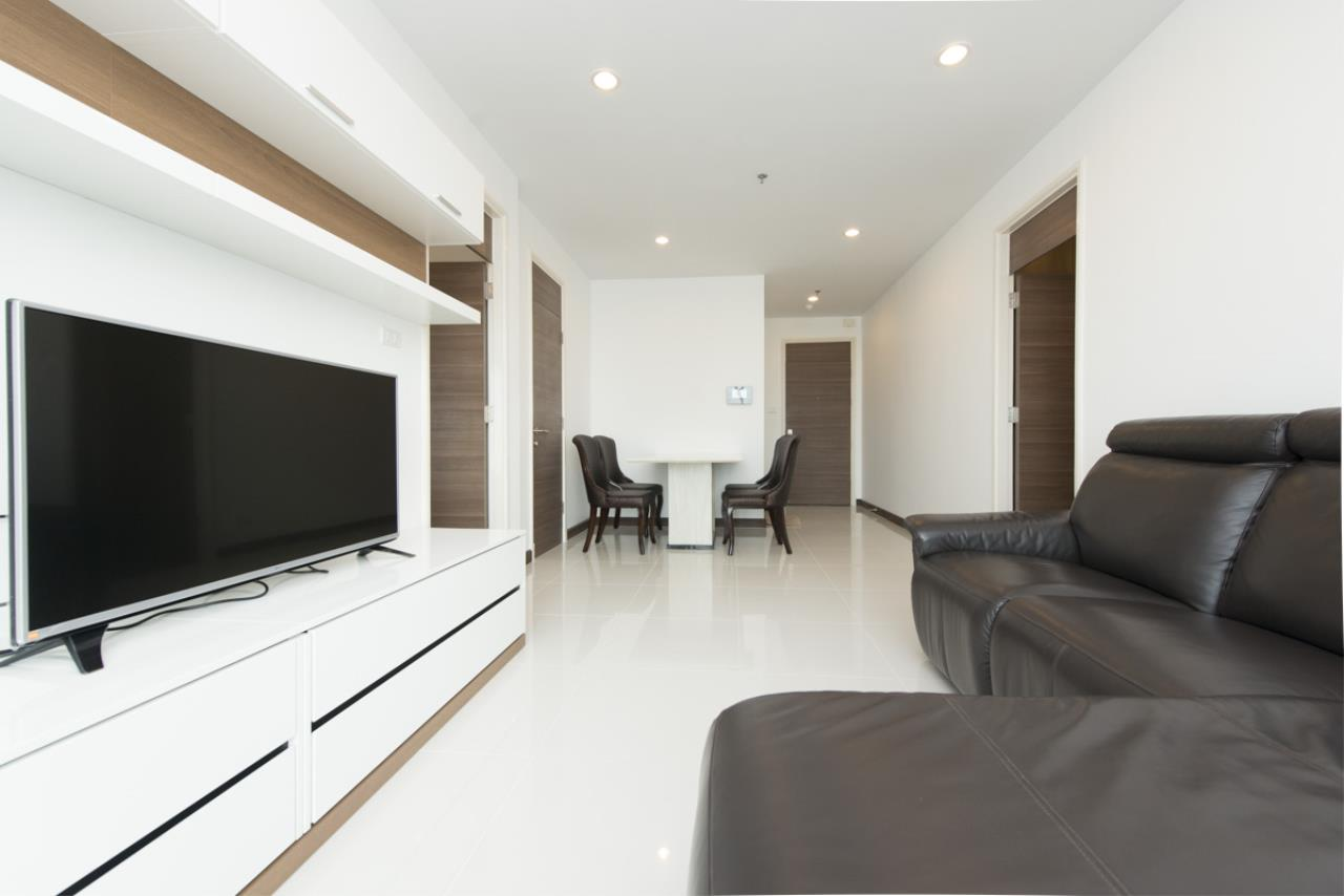 Edman and Partners Co.,Ltd Agency's SUPALAI PRIMA RIVA For Rent 2Br 1