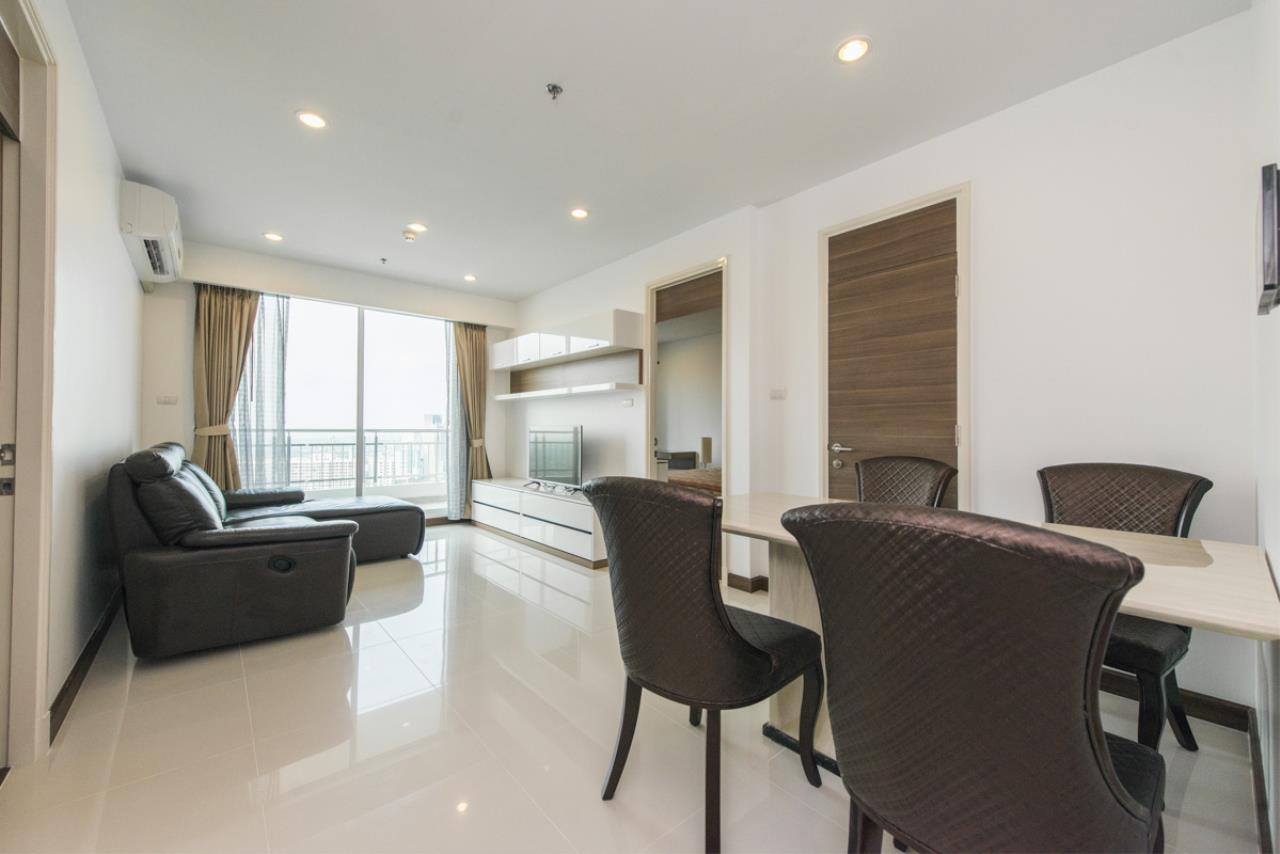 Edman and Partners Co.,Ltd Agency's SUPALAI PRIMA RIVA For Rent 2Br 3