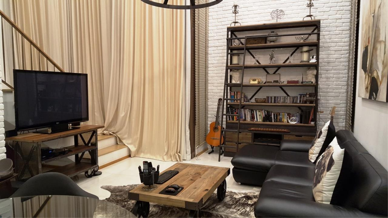 Edman & Partners Co.,Ltd. Agency's  Renovated Luxury Duplex Unit for rent at The Emporio Place Condominium.  Available Now 8