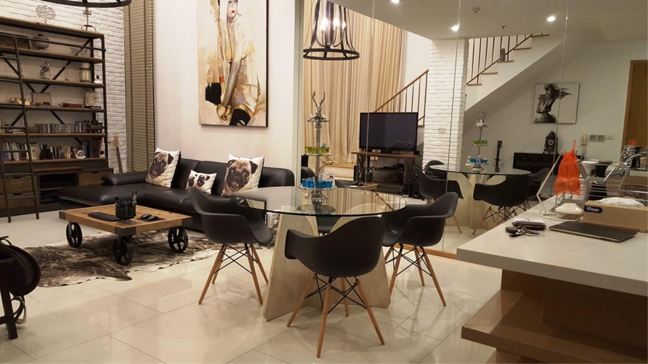 Edman & Partners Co.,Ltd. Agency's  Renovated Luxury Duplex Unit for rent at The Emporio Place Condominium.  Available Now 2