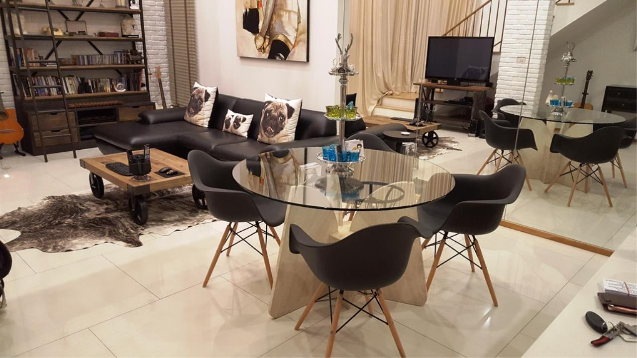 Edman & Partners Co.,Ltd. Agency's  Renovated Luxury Duplex Unit for rent at The Emporio Place Condominium.  Available Now 6