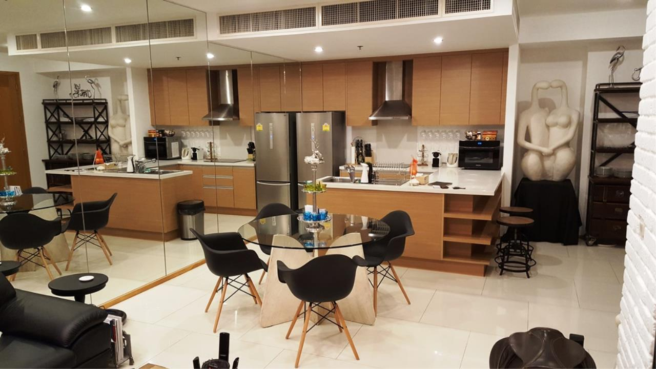 Edman & Partners Co.,Ltd. Agency's  Renovated Luxury Duplex Unit for rent at The Emporio Place Condominium.  Available Now 9