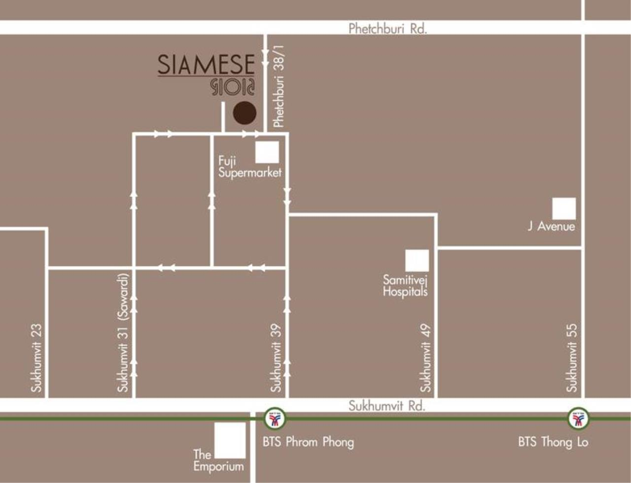 Edman & Partners Co.,Ltd. Agency's SIAMESE GIOIA 1 Bed For Rent 9