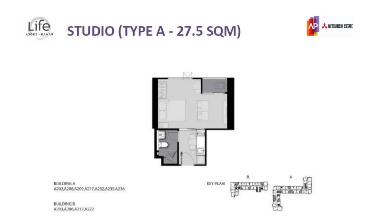 Edman & Partners Co.,Ltd. Agency's Life Asoke Rama 9 For Sale 2