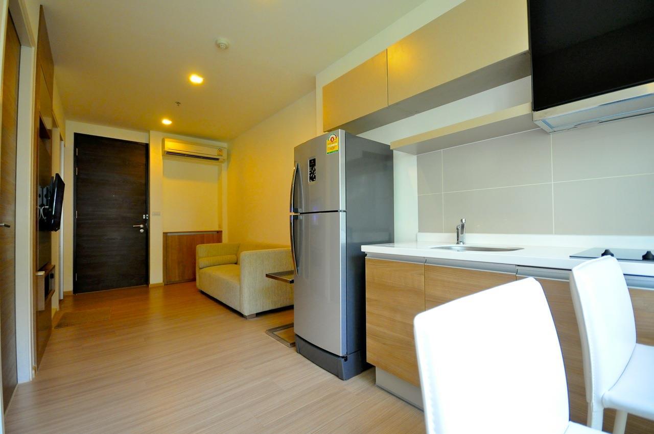 Edman & Partners Co.,Ltd. Agency's Rhythm Sukhumvit 50  1  bed   for  rent 2