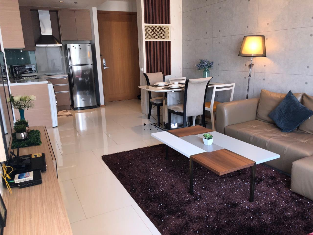 Edman and Partners Co.,Ltd Agency's For Sale or Rent The Emporio Sukhumvit 24, 1 Bed 22